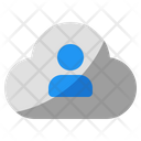 Cloud People Database Icon