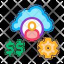 Human Working Money Icon
