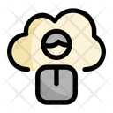 Cloud Education User Icon