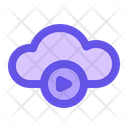 Cloud Video Video Online Video Icon