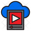 Cloud Video Icon