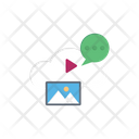 Cloud Video Education Elearning Icon