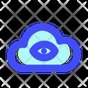Cloud Technology Digital Icon