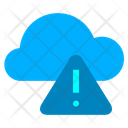 Cloud Warning Icon