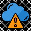 Cloud Warning Icon
