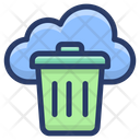 Cloud Waste Data Icon