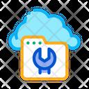 Cloud Web Repair Icon