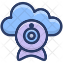 Cloud Webcam Cloud Technology Cloud Computing Icon