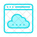 Cloud Storage Browser Icon