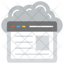 Cloud Website Icon