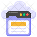 Web Layout Web Design Cloud Website Icon