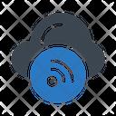 Wifi Signal Cloud Icon