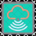 Cloud Wireless Signal Icon