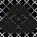Cloud Wifi Network Icon