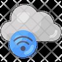 Cloud Wifi Cloud Internet Wireless Network Icon
