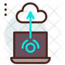 Cloud Wifi Cloud Network Cloud Connection Icon