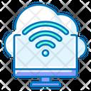 Cloud Wifi Internet Cloud Icon