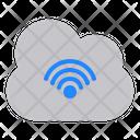 Cloud Wifi Cloud Connection Cloud Computing Icon