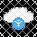 Wifi Internet Cloud Icon
