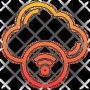 Wifi Signal Sharing Internet Icon