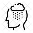 Rainy Cloud Cloudburst Icon