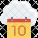 Cloudcalendar Cloudcomputing Cloudstorage Icon