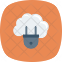 Cloudcomputing Cloudhosting Cloudplugin Icon