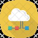 Cloudcomputing Cloudnetwork Internet Icon