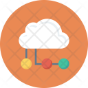 Cloudcomputing Cloudnetwork Networkhosting Icon