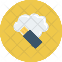 Cloudcomputing Cloudstorage Datastorage Icon