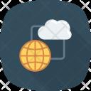 Cloudcomputing Global Globalcloud Icon