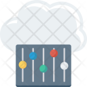 Cloudmaintenance Cloudrepairservice Cloudsetting Icon