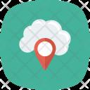 Cloudnavigation Mappin Onlinegps Icon