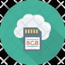 Cloudnetwork Cloudstorage Digitalstorage Icon
