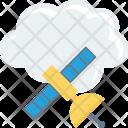 Cloudnetwork Cloudsatellite Cloudsharing Icon