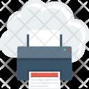 Cloudprinting Icon