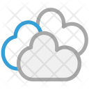 Clouds Cloudy Puffy Icon