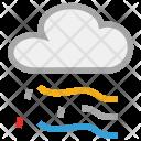 Clouds Rain Raining Icon