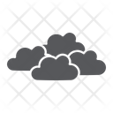 Overcast Weather Climate Icon