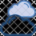 Clouds Storage Data Icon