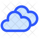 Groundhog Day Clouds Spring Icon