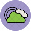 Clouds Rainbow Weather Icon