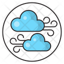 Clouds Wind Blowing Icon