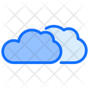 Clouds Weather Warm Icon