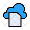 Clouds Files Document Icon