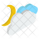 Clouds In Night Icon