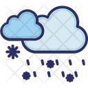 Clouds Rain Snow Icon