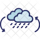 Clouds Rain Weather Icon