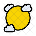 Clouds Sun Weather Icon