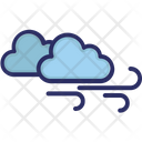 Clouds Wind Blow Icon